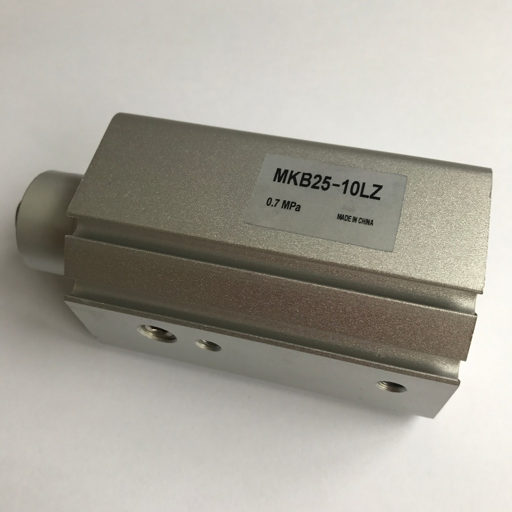 bore 40mm X 20mm stroke SMC Series MKB Type Pneumatic Rotary Clamping Cylinder MKB40-20L bore size 40mm 20mm stroke smc type mgp three shaft cylinder with magnet and slide bearing
