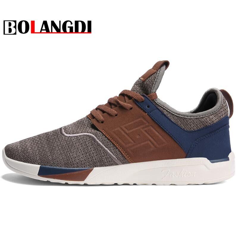 Bolangdi 2018 Nouveaux Hommes Sneaker Chaussures De Course Baskets Légères Respirant Chaussures De Sport En Plein Air Jogging Marche Chaussures D'athlétisme