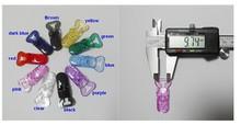 20 stücke x 20mm Klare Schwarz Rot Lila Transparent Plastic Badge Clips für die herstellung von Dummy Clips Straps kunststoff Clip der Id karte cheap Craftwork-Anmerkungs-Klemmplatte CLOTHES KIDS