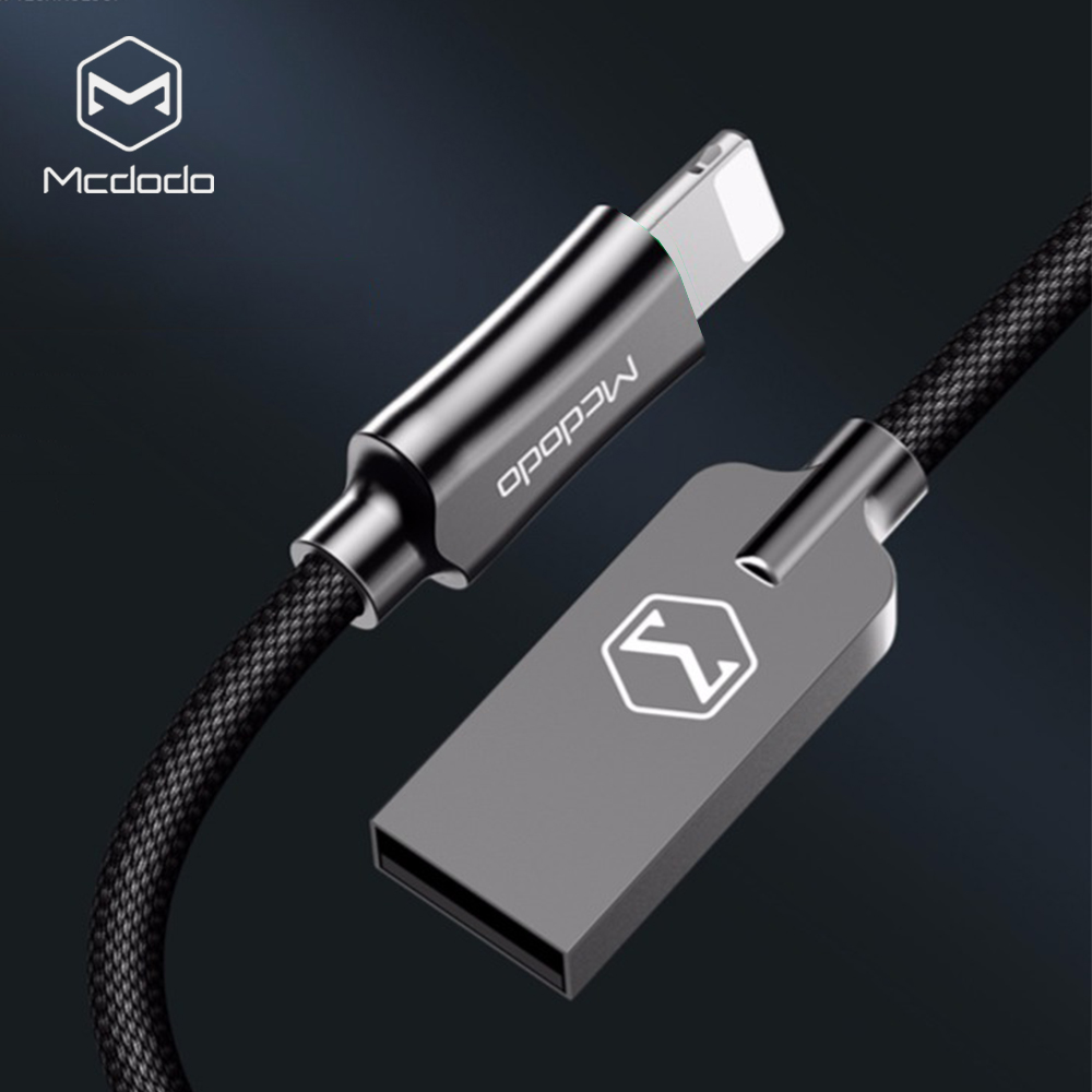 Mcdodo For iPhone Cable IOS 11 10 2.4A Fast Charger 1.2M 1.8M Lightning to USB Cable For iPhone X 8 7 6 5 Plus Data Cables