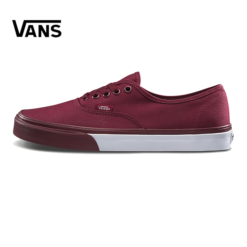 Original New Arrival Vans Men's Classic Authentic Low-top Skateboarding Shoes Sneakers Canvas Comfortable VN0A38EMQ9C