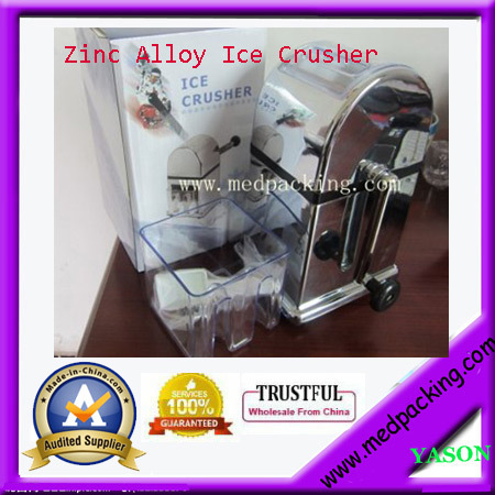 Hot-selling Zinc Alloy Ice Crusher for Home-used