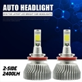 9008 9004 9007 H4 H11 H13 905 Hi/Lo Luz de Niebla 6000 K Conversión Del Coche Blanco de 60 W LED KIT de faros