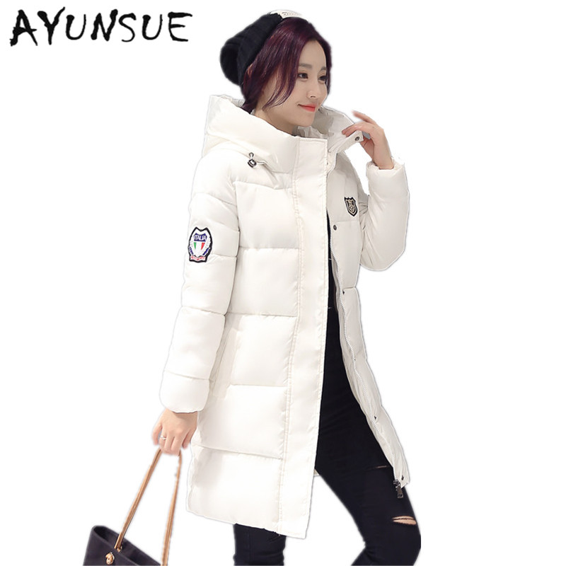 2020 New Long   Parkas   Female Women Winter Coat Thickening Cotton Winter Jacket Womens Outwear   Parkas   for Women Winter Outwear