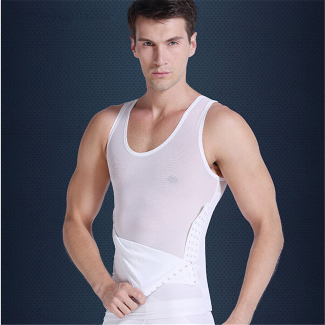 575f1fd7c92de body shaper slimming vest modelador de cachos waist trainers corsets for men  stomach wrap fat lose