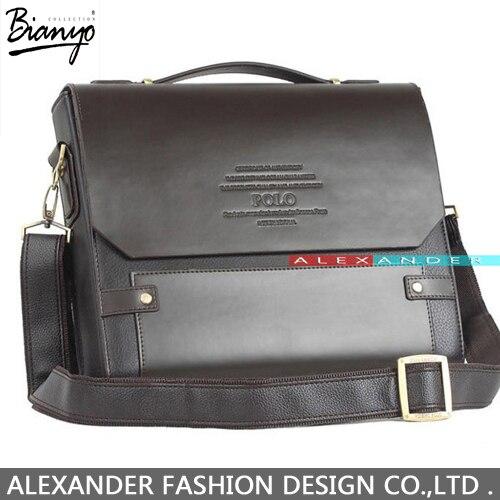 87d4548fb6 Factory Outlet designer brand 2015 new men s leather shoulder bag ...