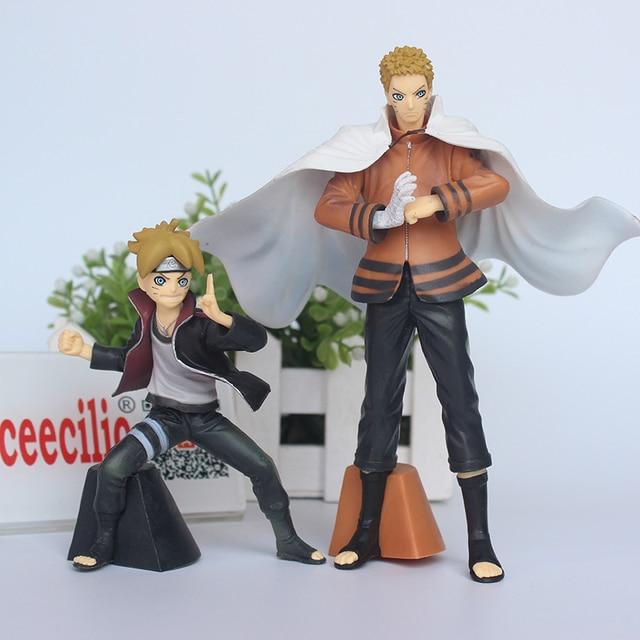 2Pcs set Naruto Boruto Pvc Action Figure