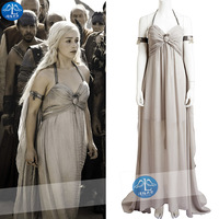 100%real Game of Thrones cosplay long medieval dress