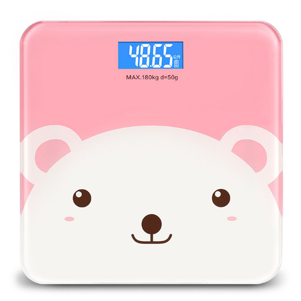 Musculation Rechargeable Electronic Weight Scales Household Health Human Accurate Adult Loss Weighing Device Bathroom Scale