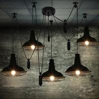 Comedor luces restaurante bar iluminación edison vintage lámpara almacén iluminación colgante moderna iluminación del restaurante de cocina