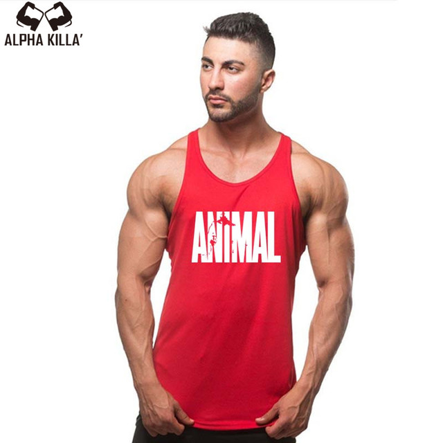 Fashion Mens Bodybuilding Vest Tanks Tops Cotton Sleeveless Mens Y Back Stringer Tank Top Undershirt Gyms Clothing