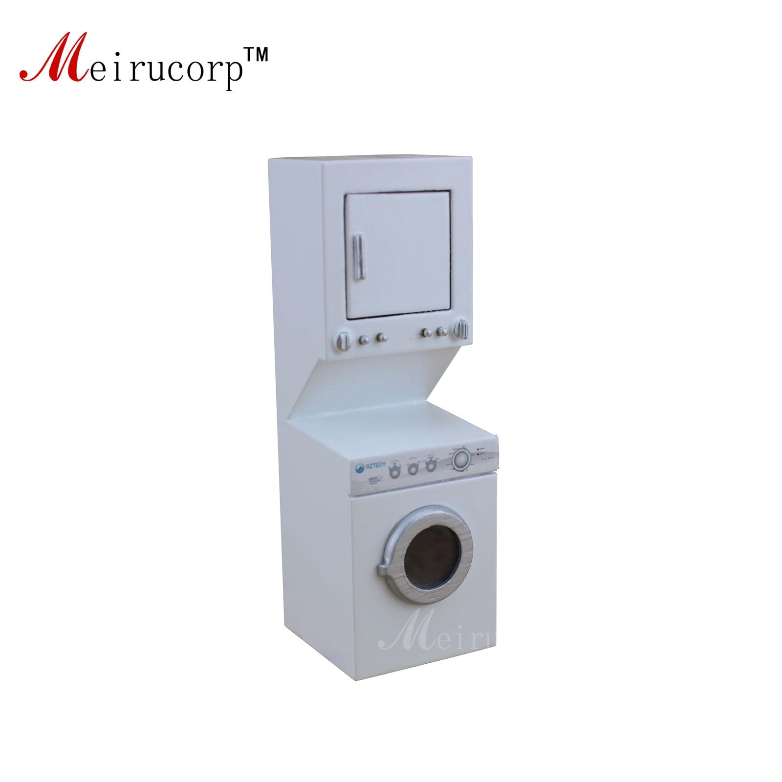 Минијатурни електрични апарат Доллхоусе 1:12 Машина за прање веша
