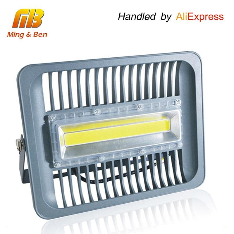 [MingBen] <font><b>LED</b></font> Flood <font><b>Light</b></font> IP65 WaterProof 30W 50W 100W 220V 230V 110V Flood <font><b>Light</b></font> Spotlight <font><b>Outdoor</b></font> Wall Lamp Garden Projector