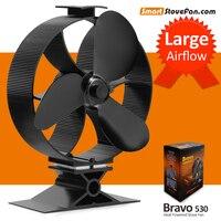 New Arrival 23 Fuel Cost Saving Heat Powered Stove Fan Ecofan Wood Stove Fan Circulate Heat