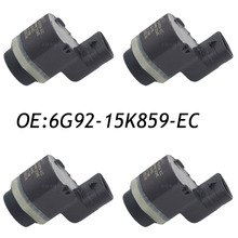 4 UNIDS PDC Sensor de Aparcamiento Para Ford Mondeo S-MAX 06-2011 6G92-15K859-AA 6G92-15K859-EC 6G9215K859EC