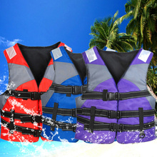 Hot Life Vest Men's Jacket Outdoor Professional Children's Swimwear High Quality Foam For Fishing Surfing Kayak Water Safety