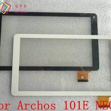 Черно-белый 10,1 дюймов для Archos 101E неоновый для планшета pc сенсорный экран панель дигитайзер стекло сенсор для замены с логотипом
