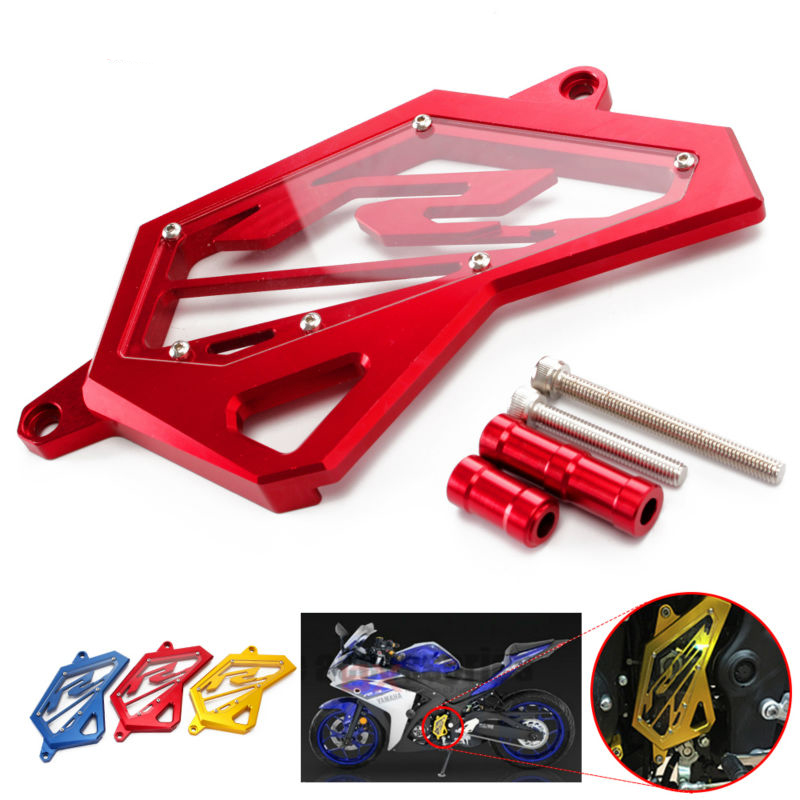 CNC motorcycle For Yamaha YZF R3 MT03 MT25 MT 03 25 MT03 YZF R3 ABS YZF R25 2013-2017 Frame Hole Cover Front Drive Shaft Cover fite for yamaha yzf r25 r3 yzf r25 yzf r3 mt 25 mt 03 2016 2015 2014 motorcycle gps navigation frame mobile phone holder