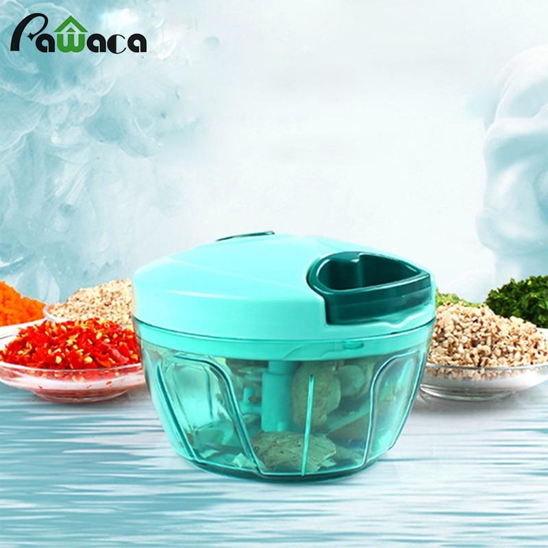 Pawaca Multifunction Vegetable Chopper Cutter Processor Garlic Cutter Vegetable Twist Shredder Kitchen Accoriess