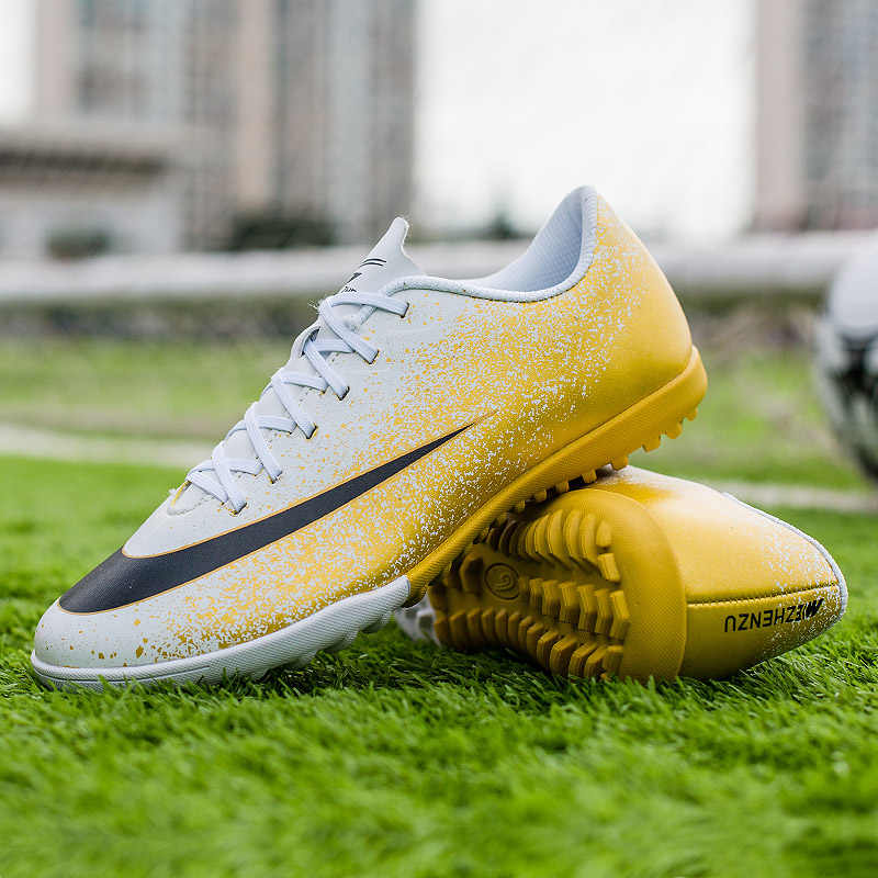 Zhenzu Professionele Voetbal Schoenen Mannen Kids Jongens Voetbal Schoenplaten Laarzen Chuteira Futebol