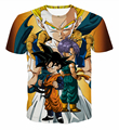 Newest Style Anime Dragon Ball Z Vegeta 3D t shirt Cute Kid Goku t shirts tees Women Men Hipster Cartoon tshirts Casual tee tops