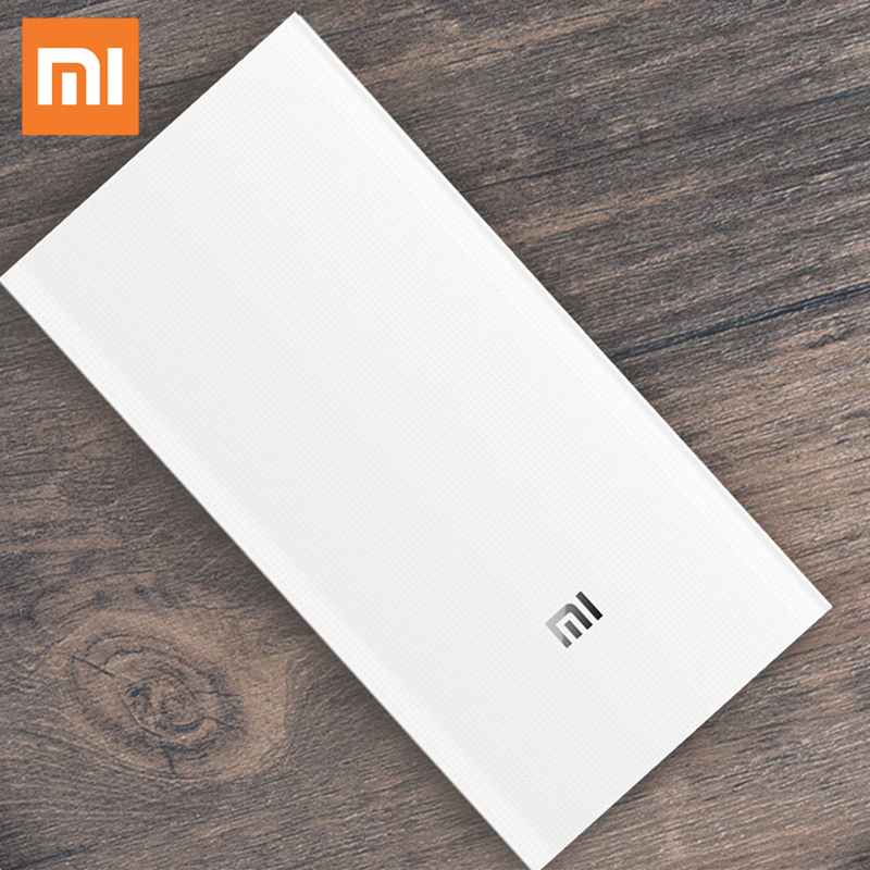 Xiaomi Power Bank 2C, 20000mAh Quick Charge Powerbank External Battery Micro USB Portable Bateria External Portable Charger