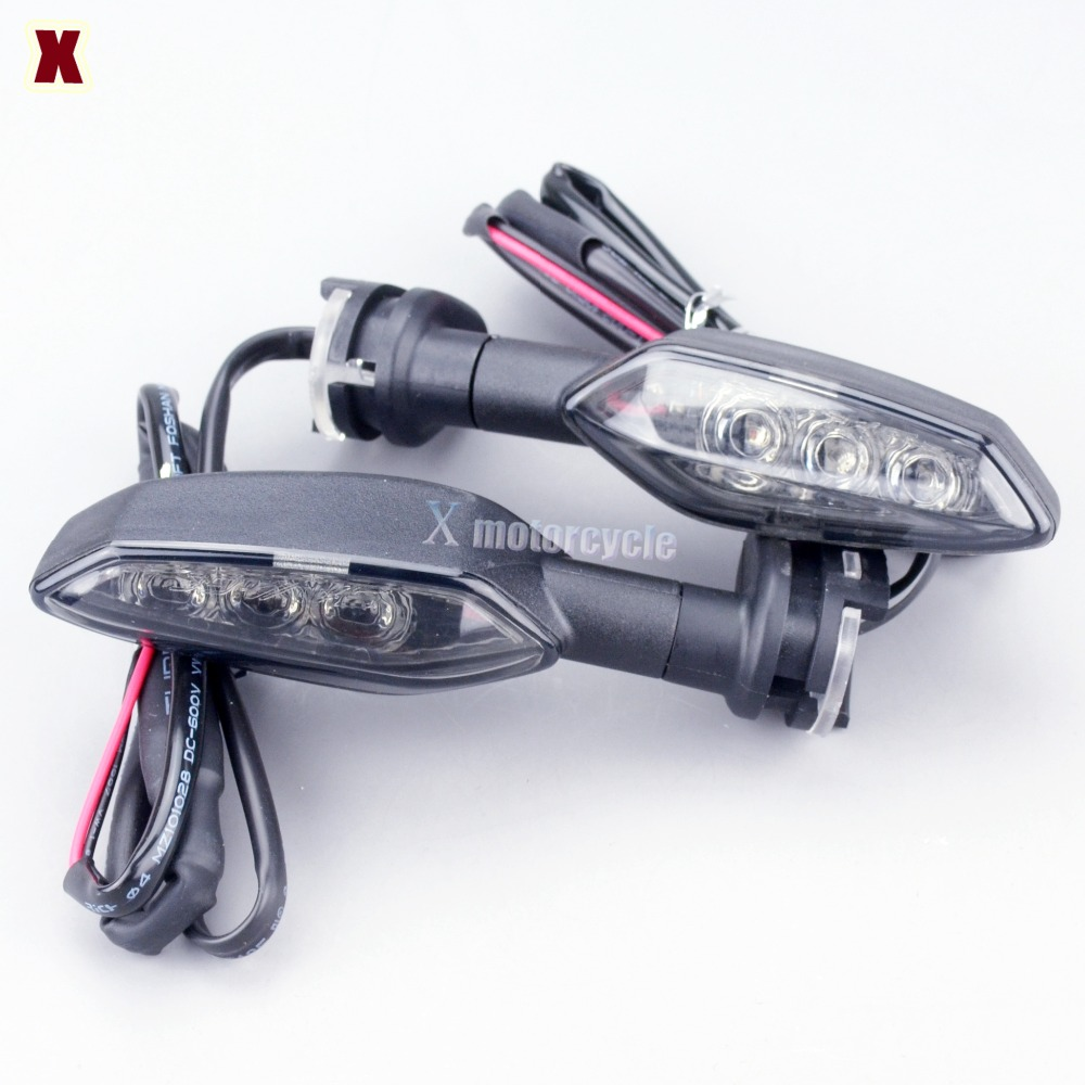 LED Turn Signal Indicator Light For YAMAHA MT-01 MT-25 MT-03 MT-07 MT-09 MT-10 MT09/MT07 Tracer Motorcycle Blinker Front Or Rear