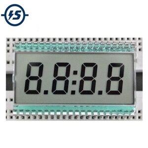Image 1 - EDC190 4 Digit 7 Segment Lcd scherm Digitale Klok Buis Statische Rijden 3V 50.8x30.48x2.8mm halfdoorzichtige TN Positieve Display