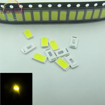 5000pcs/pag 5630 5730 Warm White LED SMD/SMT Chip lamp beads Light Emitting diode DIY Applicable to all kinds of toys