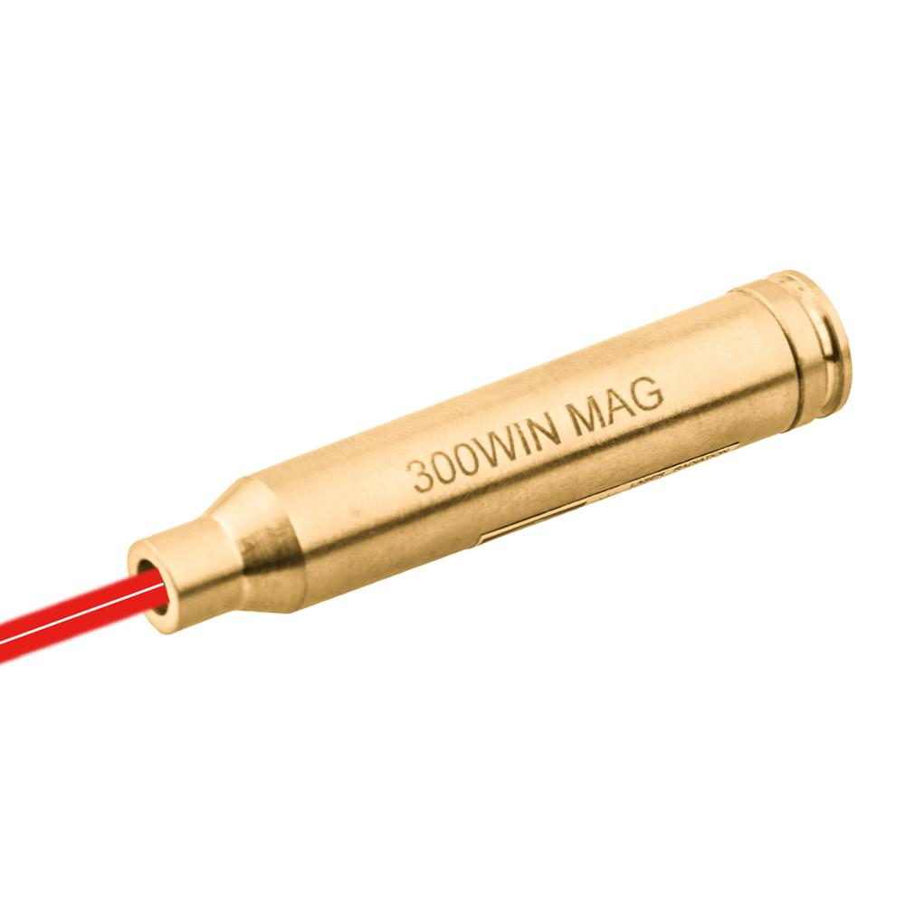 Vector Optics .300 Winchester Magnum Caliber Cartridge Rifle Red Laser Bore Sight 300WIN Boresighter