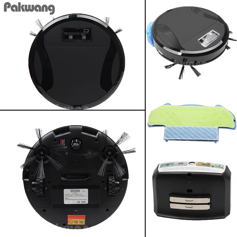 WiFi APP Robot Vacuum Cleaner For Home And Office Wet And Dry Mopping Auto Cleaning Intelligent Home Cleaning With Water Tank стоимость