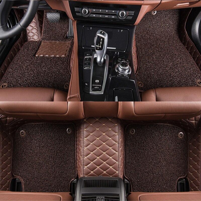 TENGRUI Custom Car Floor Mats for Audi A1 A3 A4 A4l A5 A6 A6L A7 A8 Q3 Q5 Q7 S and RS Series Auto Floor Mats Accesserios