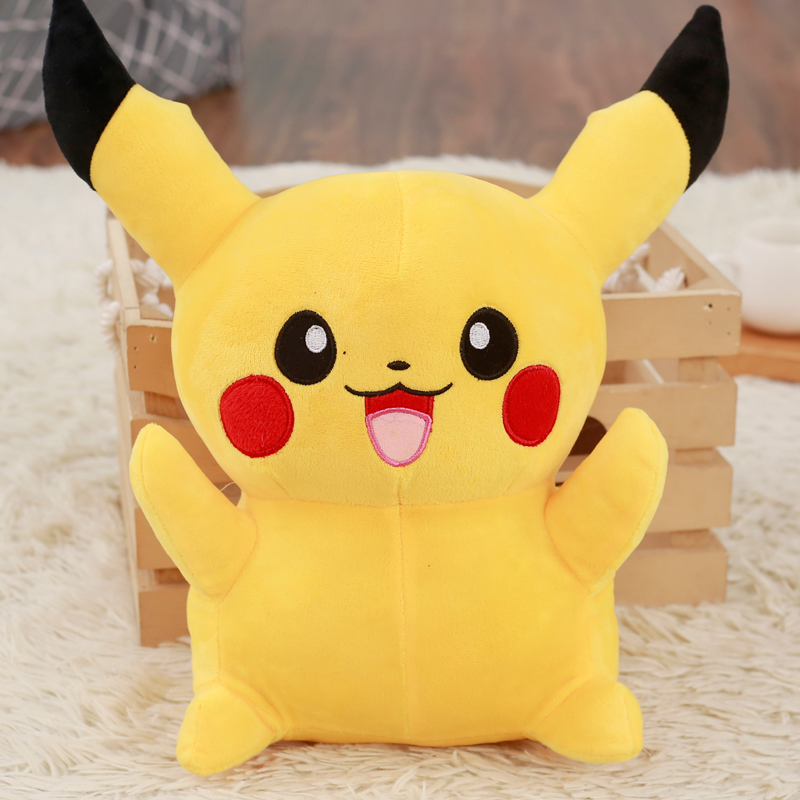 Free Shipping 23cm Special Offer Pikachu Plush Toys Anime Toy High Quality Very Cute Plush Toys