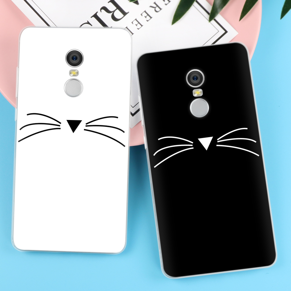 Cat Case for iPhone X 8 7 4 4S 5 5S 5C SE 6 6S Plus For Xiaomi Redmi 4 4A 3S 3 S 4X Note 3 4 Pro Prime 4X 5A Mi A1 Mi 5X Cover