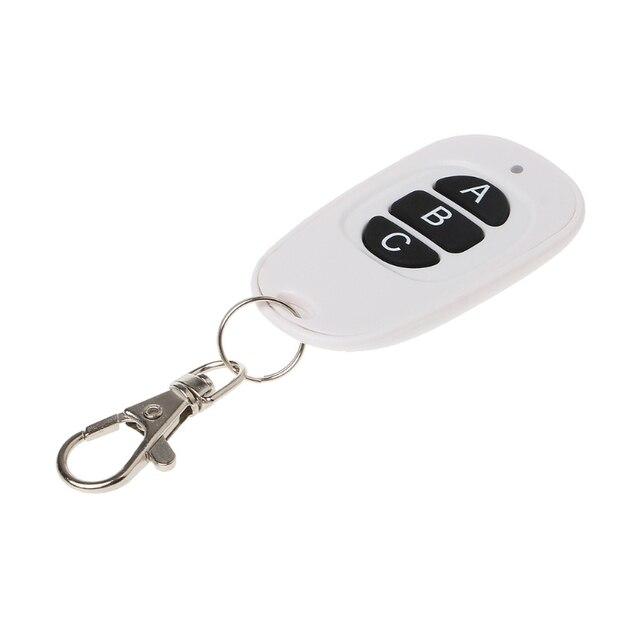 1CH 2CH 3CH 4CH Rf Draadloze Afstandsbediening 1 4 Button Zender 433 Mhz EV1527 Hoge Kwaliteit Afstandsbediening zender