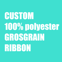 "ZERZEEMOOY 3/8"" 1 inch 2 inch 3 inch 25MM 38MM 50MM 75MM 100% polyester grosgrain ribbon customization single color printing"