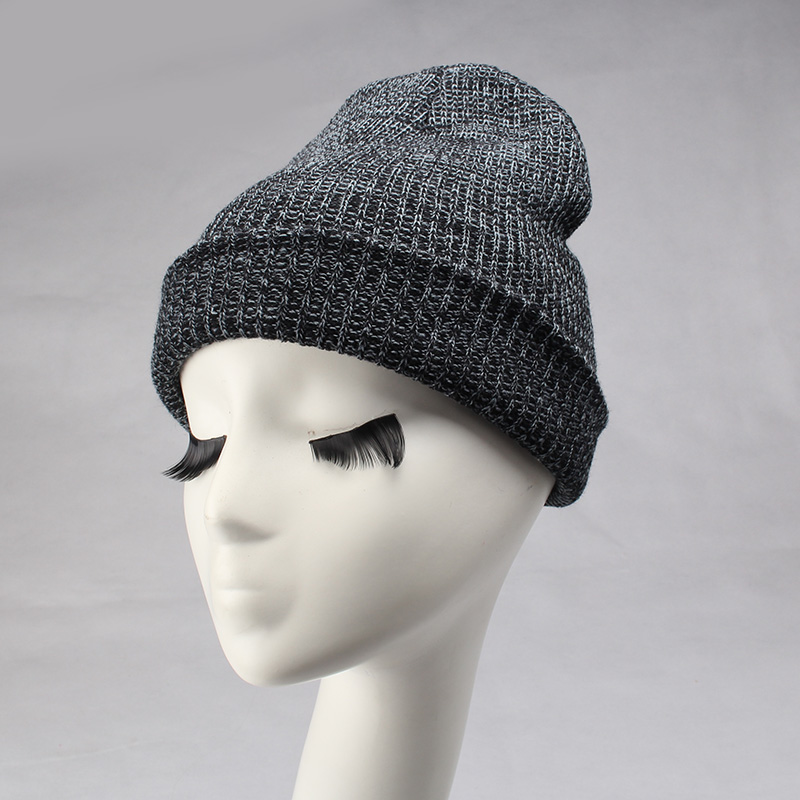 C Winter 7 color Baggy Women Beanies Wool Knitted Acrylic Hats Mix Colors Skullies Elasticity Caps Free Shipping Female gorro free shipping skullies