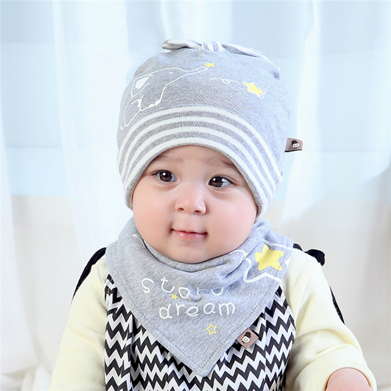 Thin Cartoon Warm Wool Newborn Baby Head Cap Set Design Hat Head Scarf Boy  Girl Kids Toddler Clothing Accs Knitted Caps-in Hats   Caps from Mother    Kids on ... aad9dd55831