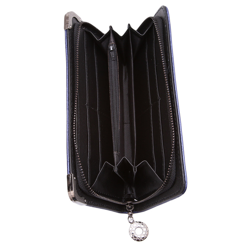Vintage Skull Wallets Ladies Long Handbag Zipper Wallet Skeleton Purse Clutch Card Holder Carteira Feminina Women's Wallet