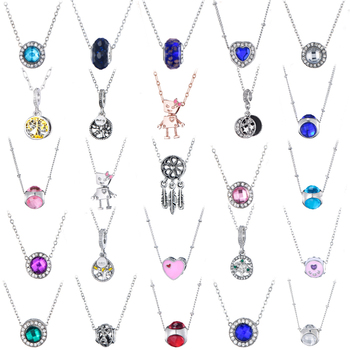 Trendy Silver Color Dream Catcher Pendant Bella Tree Of Life Necklaces for Women Kids Long Chain Brand Necklace Drop Shipping image