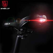 Wheel UP Men Soft Spare Parts For Cycling Seat Saddle MTB PVC Bike Saddle With Tail Light Leather Road Bike Saddle bike saddle with tail light mtb bike leather rail hollow gear soft bicycle taillight cycling seat saddle cover