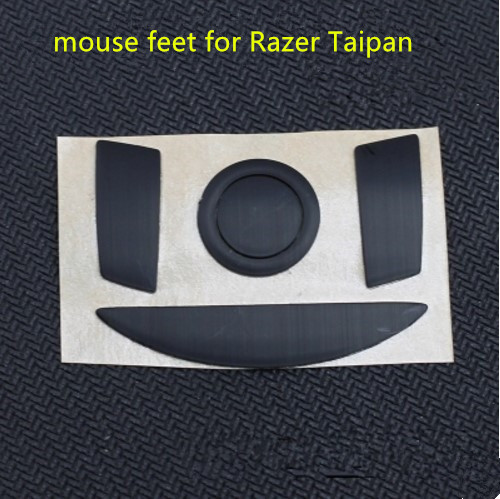 2 sets/pack Teflon mouse skates mouse feet for <font><b>Taipan</b></font> replacement mouse glides thickness is 0.75mm image