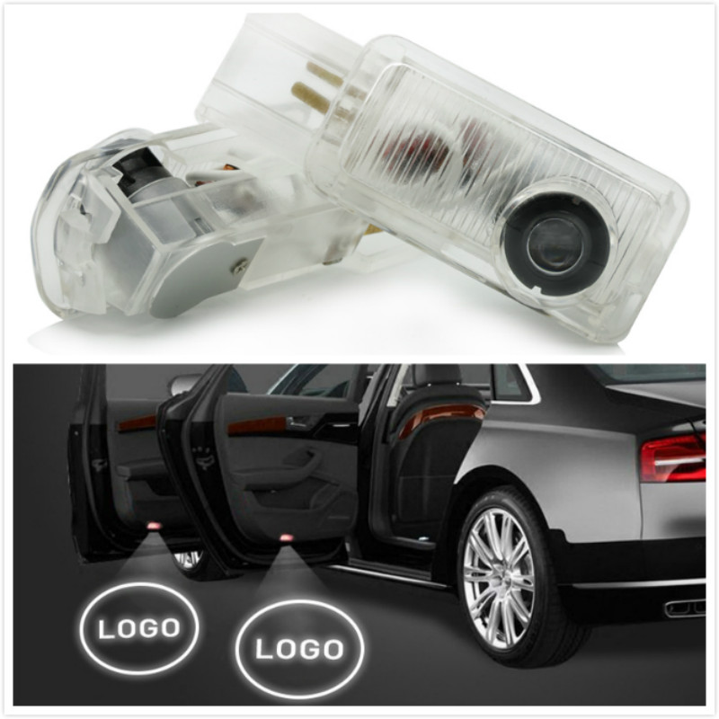 kanuoc Car Door Welcome Light Logo Projector LED For Mercedes Benz W164 W215 R320 R300 R350 ML300 ML350 ML400 X164 ML63 GL ML