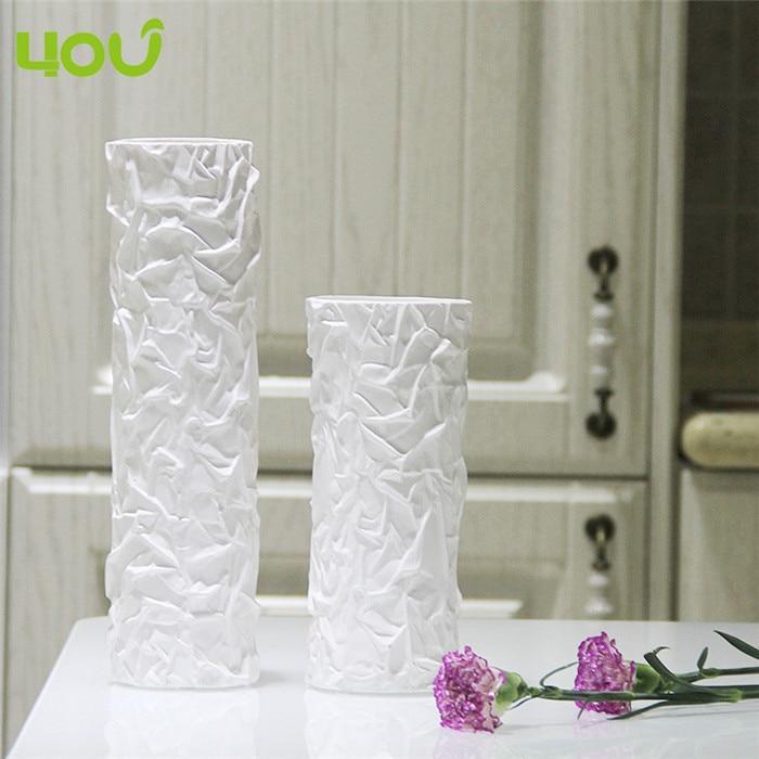 Tall White Decorative Vases Interior Design Ideas