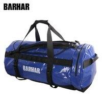 120L Водонепроницаемость унисекс Открытый Base Camp Duffel рюкзак транспорта посылка большой Ёмкость брюки карго Каньонинг сумка barhar