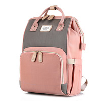 Baby Mother Bag Backside Opening Portable Mommy Backpack For Women Diapers Bag Large Capacity Baby Travel Bag