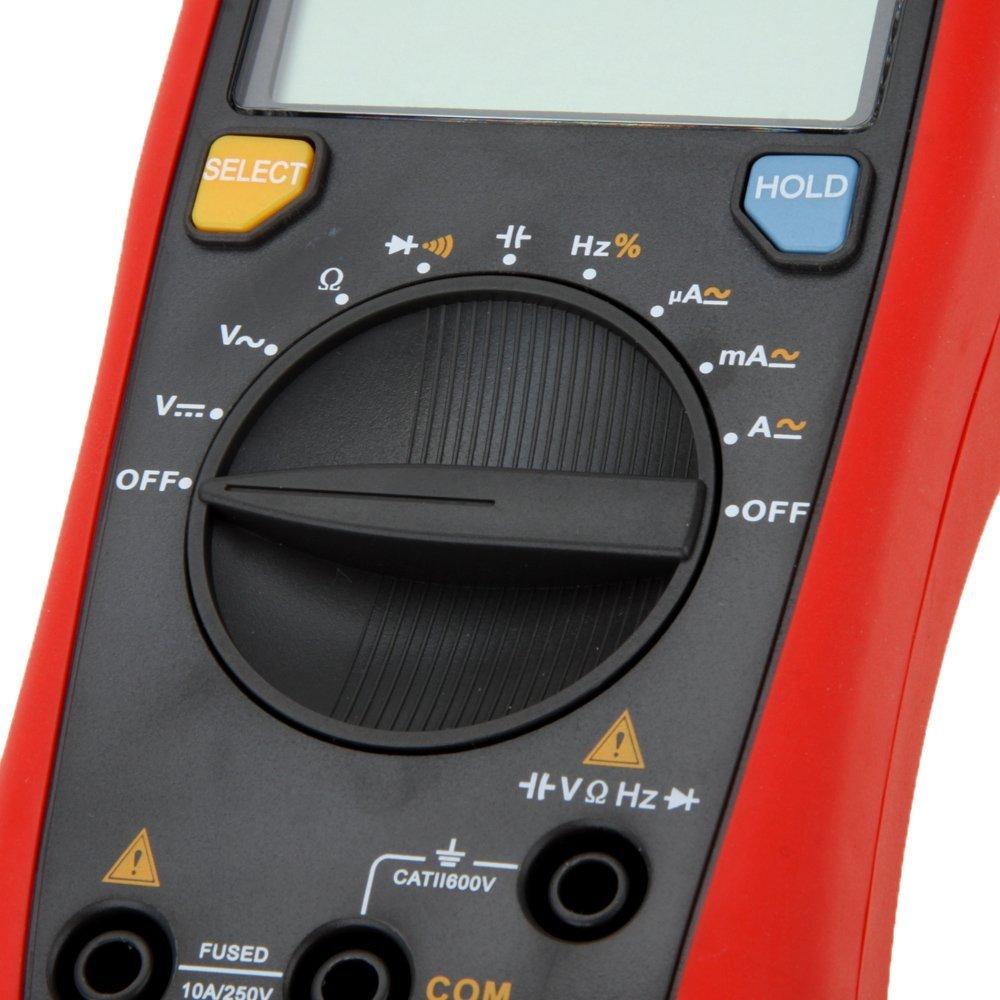 UNI T UT136B digitaalne multimeeter 3999 Count DMM AC DC Voltmeeter - Mõõtevahendid - Foto 5