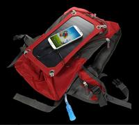 6.5W Portable Solar mobile power outdoor travel mountaineering backpack shoulder bag