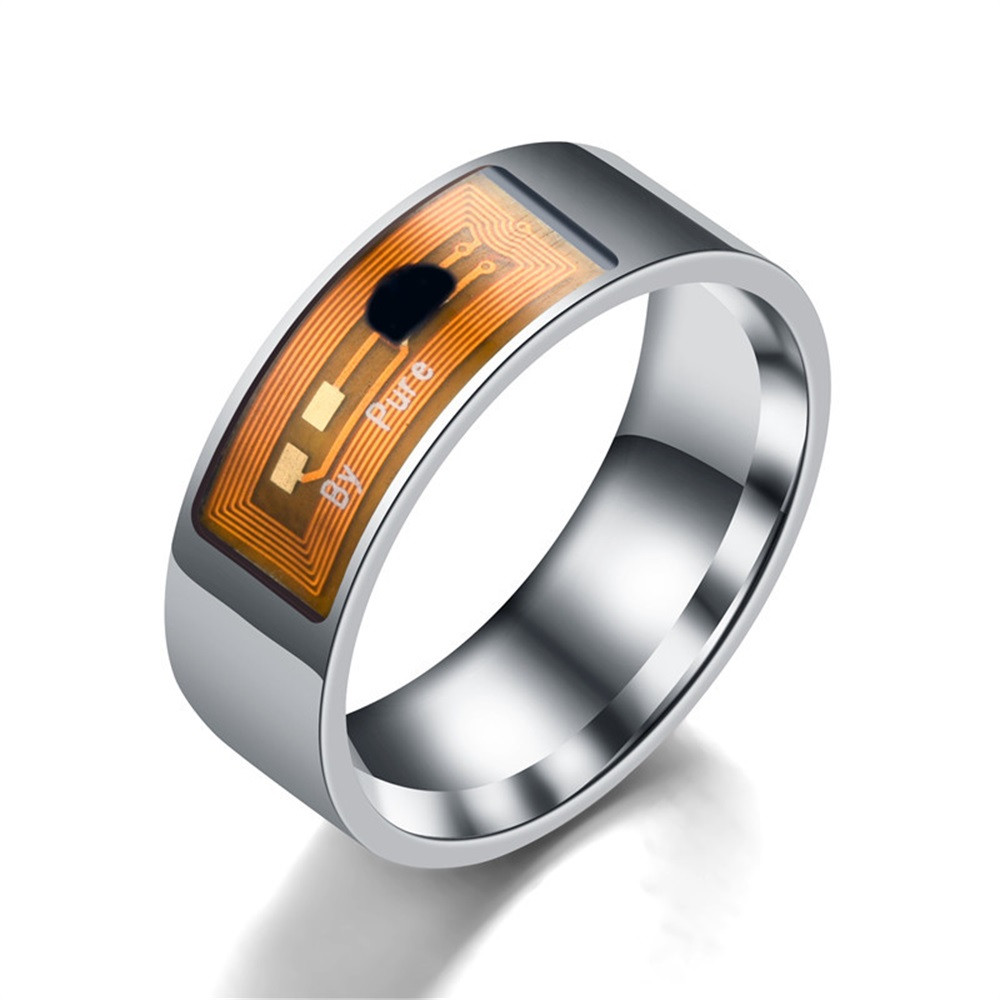 NFC Multifunctional Waterproof Intelligent Ring Wear Finger Digital Ring Size 6-13 For Smart Fitness Bracelet Smartband