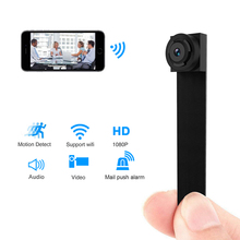 Мини Wi-Fi камера Пульт дистанционного управления 1080 P Full HD Беспроводной P2P видео аудио рекордер Wi-Fi камера Мини Цифровая видеокамера ip-камера
